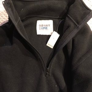 Black fleece, never worn!